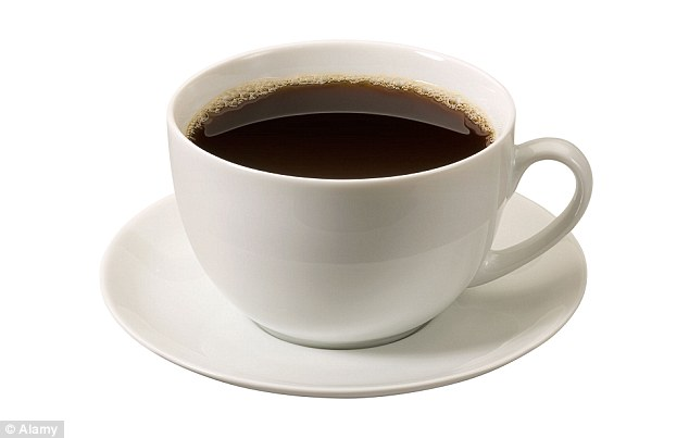 A cup of coffee, used for curing insomnia. Photo credit - Daily Mail UK