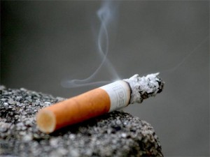 Cigarette smoke can cure cancer. Photo credit - uhaweb.hartford.edu