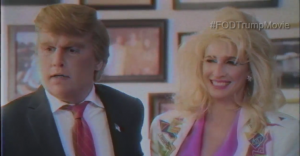 Michaela Watkins as Ivana Trump in Donald Trump's The Art of the Deal - The Movie