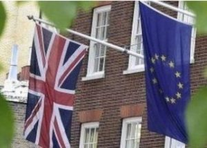 brexit two flags reuters
