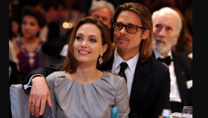 Brad and Angelina in happier times. Source: the entire internet