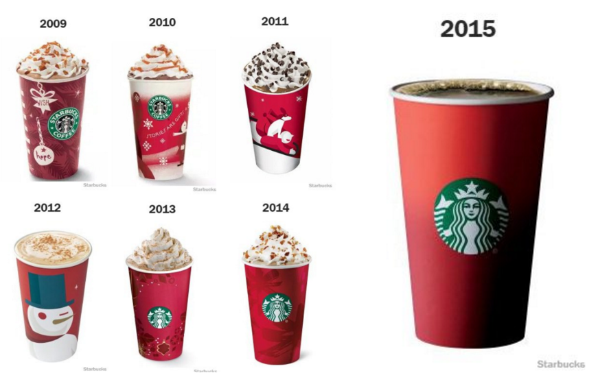 GODDAMMIT STARBUCKS YOU RUINED MY CHRISTMAS!