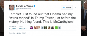 massive reveal in Trump tweet