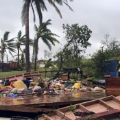 Tropical Cyclone Destroys Lives in Fiji / Jennifer Lawrence Shops
